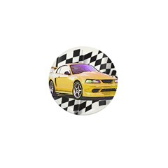 Mustang 1999 - 2004 Mini Button (100 pack)