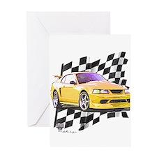 Mustang 1999 - 2004 Greeting Card