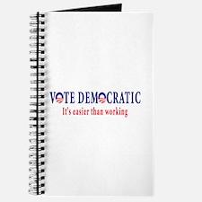 Vote Democratic It's Easier T Journal