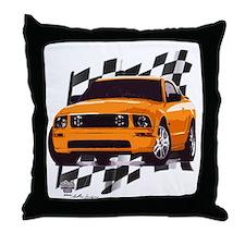 Mustang 2005 - 2009 Throw Pillow