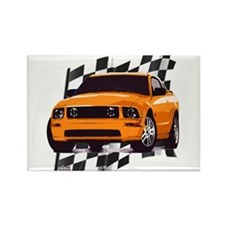 Mustang 2005 - 2009 Rectangle Magnet