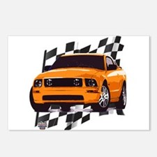 Mustang 2005 - 2009 Postcards (Package of 8)