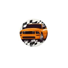 Mustang 2005 - 2009 Mini Button (10 pack)