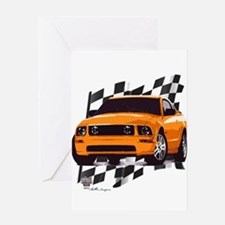 Mustang 2005 - 2009 Greeting Card