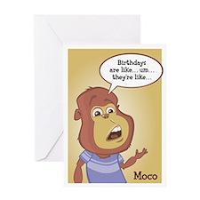 Moco Birthday Card