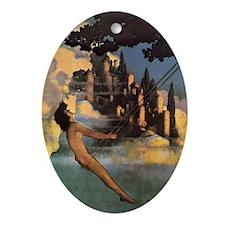 Dinkybird Oval Ornament