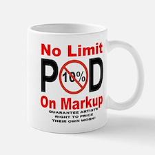 No Limit On Markup Mug