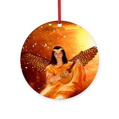 Angel 209 : Ornament (Round)