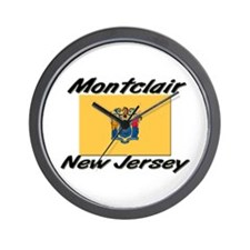 Montclair New Jersey Wall Clock