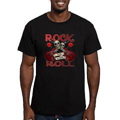 Rock N' Roll 4 Ever Rose Leaf T
