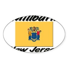 Millburn New Jersey Oval Decal
