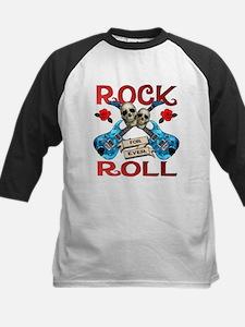 Rock N' Roll 4 Ever Blue Guit Tee