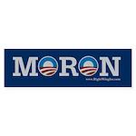 Moron Bumper Sticker (10 pk)