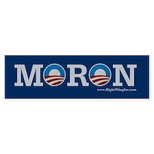 Moron Bumper Bumper Sticker
