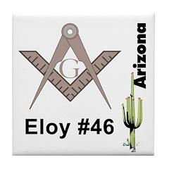 Eloy # 46 Tile Coaster