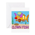 Clown Fish Greeting Cards (Pk of 10)
