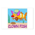 Clown Fish Postcards (Pkg of 8)