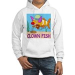Clown Fish Hooded Sweatshirt