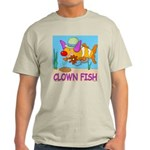 Clown Fish Ash Grey T-Shirt