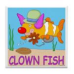 Clown Fish Tile Coaster