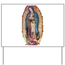 Our Lady of Guadalupe Yard Sign