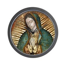 Cute Our lady guadalupe Wall Clock