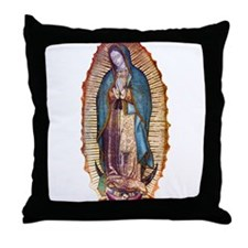 Unique Our lady guadalupe Throw Pillow