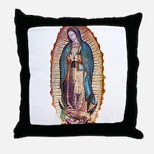 Unique Virgen de guadalupe Throw Pillow