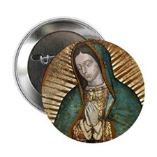 """Our Lady of Guadalupe 2.25"""" Button"""