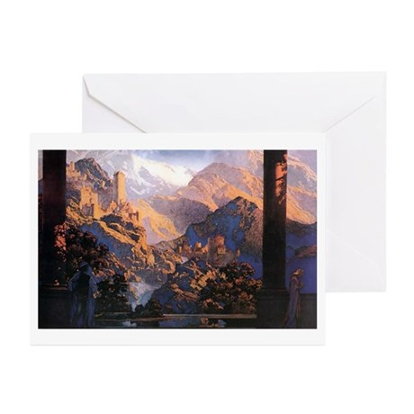 Maxfield Parrish Greeting Cards (Pk of 10)