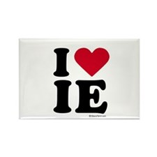 I Love the Inland Empire ~ Rectangle Magnet