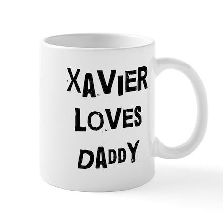 Xavier loves daddy Mug
