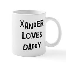 Xander loves daddy Mug
