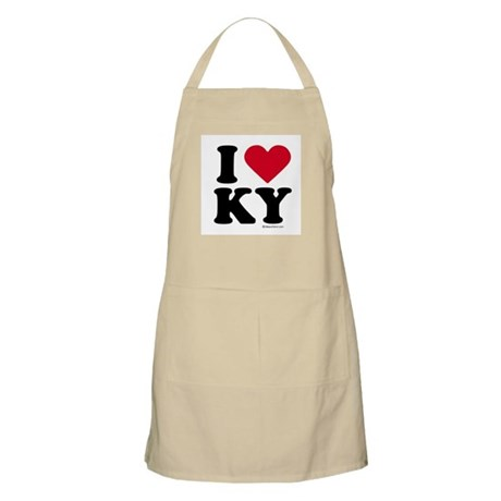 I Love Kentucky ~ BBQ Apron