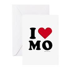 I Love Missouri ~ Greeting Cards (Pk of 10)