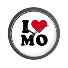 I Love Missouri ~  Wall Clock