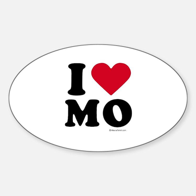 I Love Missouri ~ Oval Decal