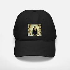 Cute Bouguereau the virgin with angels Baseball Hat