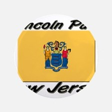"""Lincoln Park New Jersey 3.5"""" Button"""