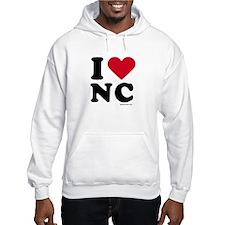I Love North Carolina ~ Hoodie