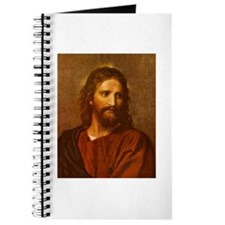 Unique Jesus face Journal