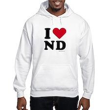 I Love North Dakota ~ Hoodie