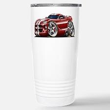 Viper GTS Maroon Car Stainless Steel Travel Mug