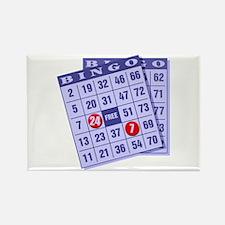 Bingo 24/7 Rectangle Magnet