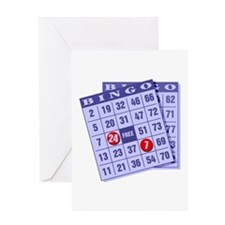 Bingo 24/7 Greeting Card