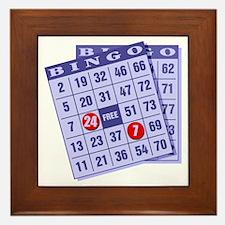 Bingo 24/7 Framed Tile
