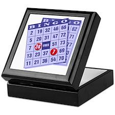 Bingo 24/7 Keepsake Box