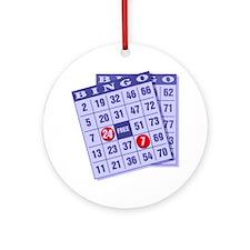 Bingo 24/7 Ornament (Round)
