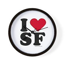 I Love San Francisco ~  Wall Clock