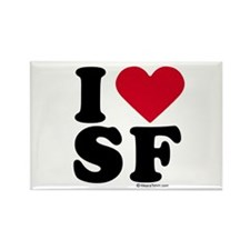 I Love San Francisco ~ Rectangle Magnet
